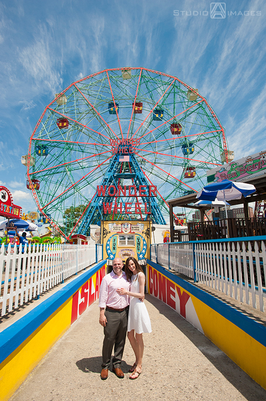 Nora + Mike | Coney Island Engagement Photos | Brooklyn Wedding Photographer