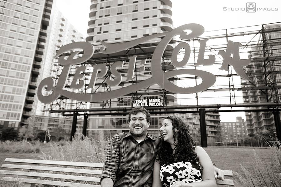 Samantha + Mike | Long Island City Engagement Photos | NYC Wedding Photographer