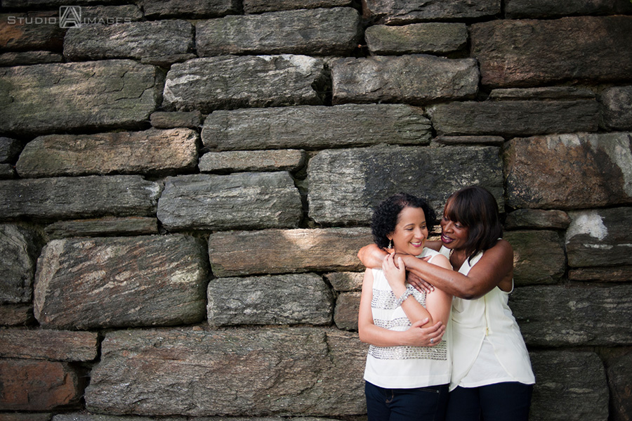 Fort Tryon Park Engagement Photos | NYC Wedding Photographer, lesbian wedding, gay weddings, gay marriage