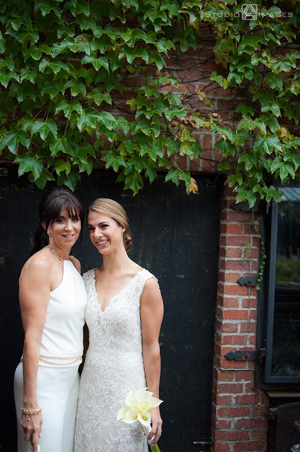 same sex wedding at Harvest on Hudson