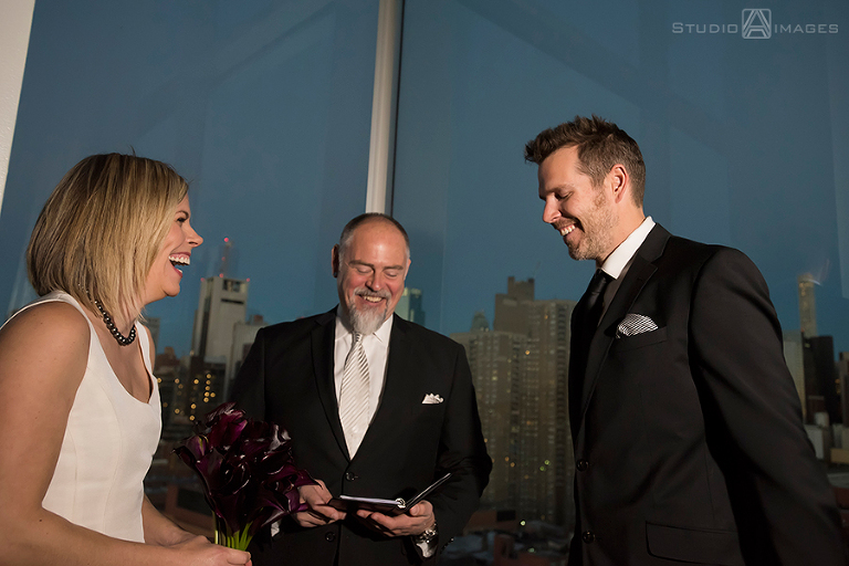 Ink 48 Penthouse Wedding | NYC Wedding Photographer | Molly + Nate