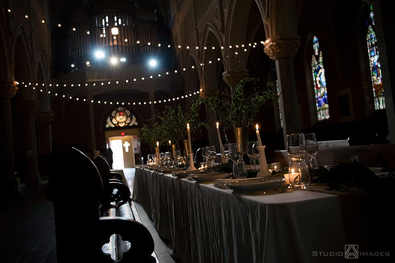 Cathedral Hall Weddings | Jersey City Wedding Photographer | Cathedral Hall Inspiration Styled Shoot