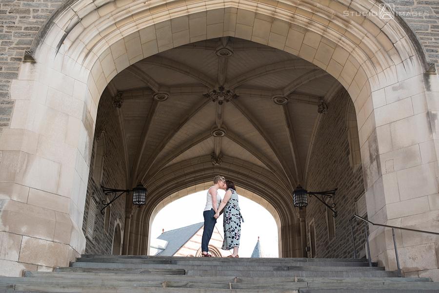Princeton University Engagement Photos | NJ Wedding Photographer | Gigi + Emily