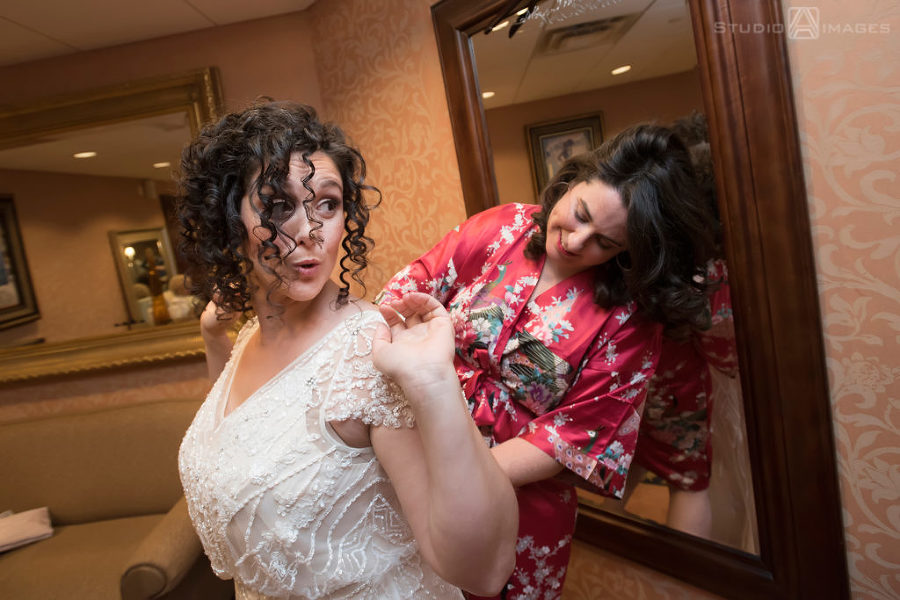 Temple Emanu-El Closter Wedding Photos | New Jersey Wedding Photographer | Merav + Adam