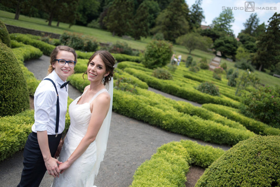 Deep Cut Gardens Wedding Photos | New Jersey Wedding Photographer | Katie + Brittany