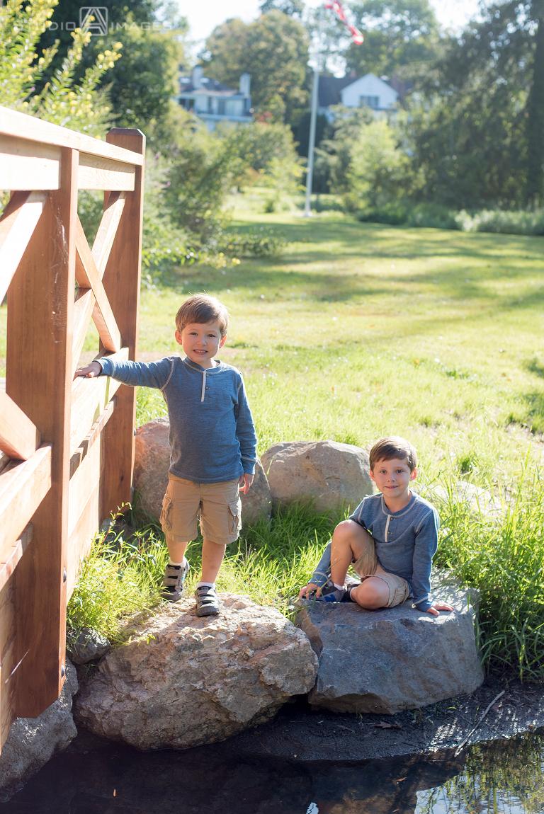 Mead Memorial Park Family Portrait Photos | Connecticut Family Photographer | M Family