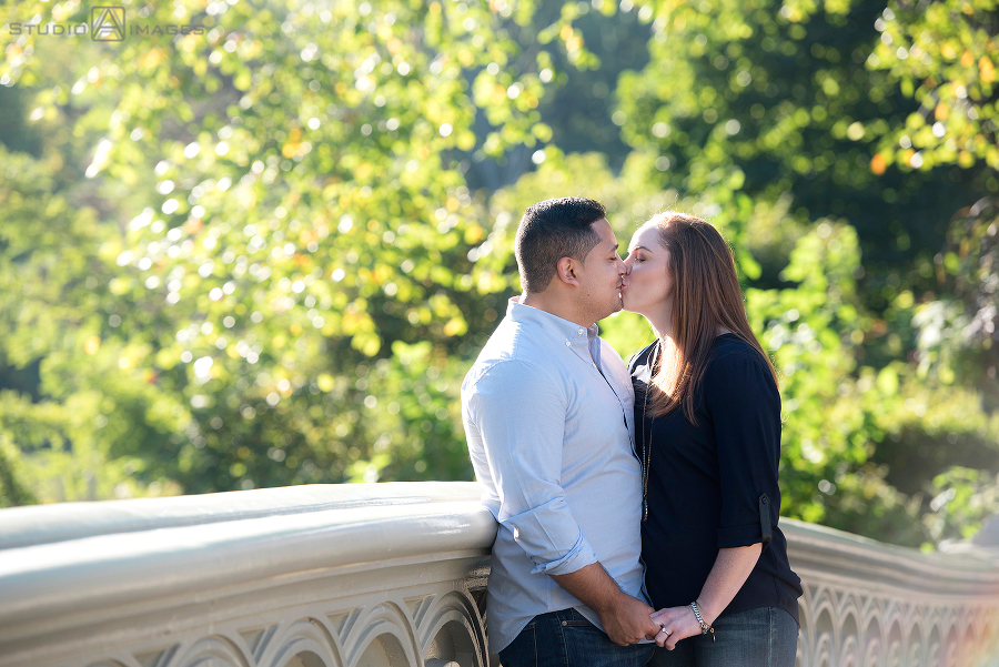 Central Park Engagement Photos | NYC Wedding Photographer | Nikki + Eric