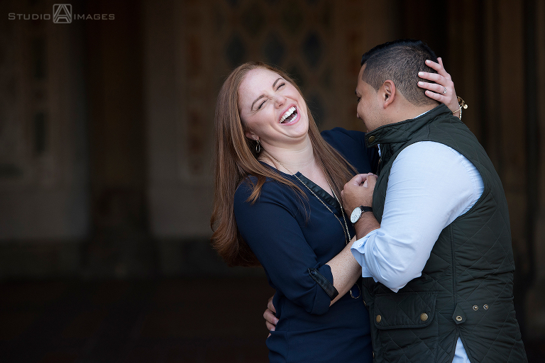Central Park Engagement Photos | NYC Wedding Photographer | Nikki + Eric
