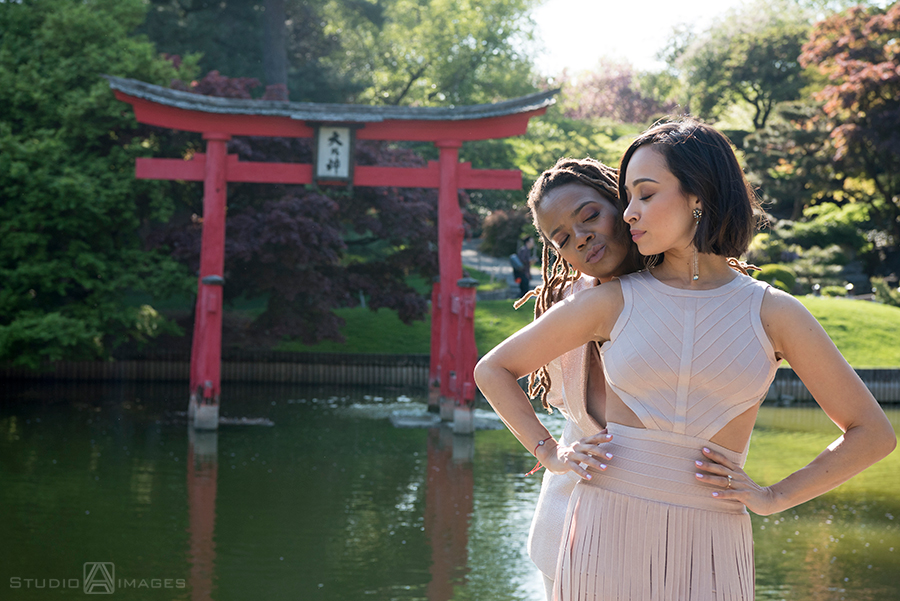 Brooklyn Botanical Garden Engagement Photos | Brooklyn Wedding Photographer | Yani + Divinity