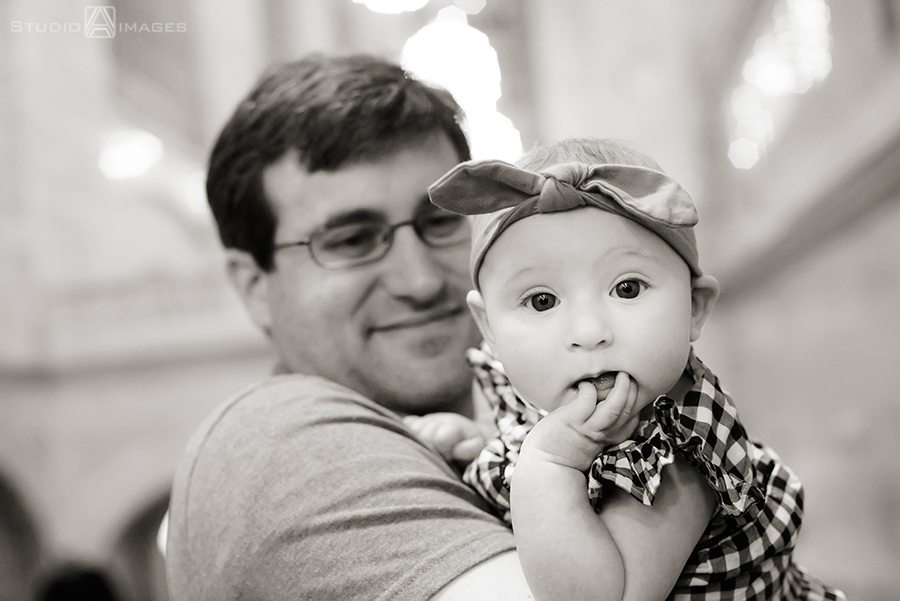 Grand Central Terminal Family Portrait Photography | NYC Family Photographer | F Family