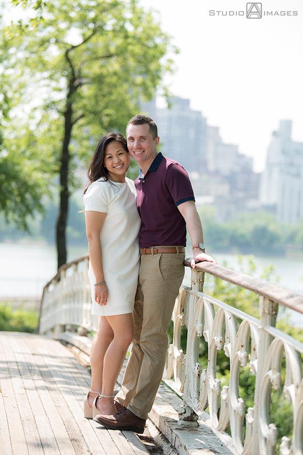 Central Park Engagement Photos | NYC Wedding Photographer | Yvonne + Joe