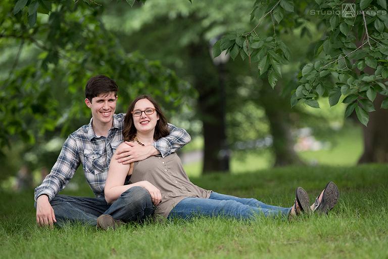 Central Park Engagement Photos | NYC Wedding Photographer | Jillian + Brian