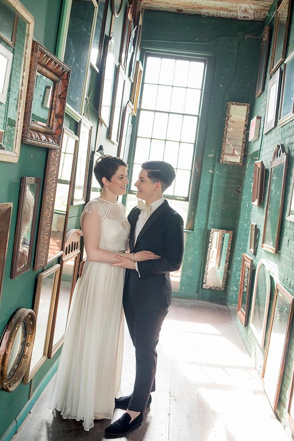 Metropolitan Building Wedding Photos | NYC Wedding Photographer | Emily + Julia