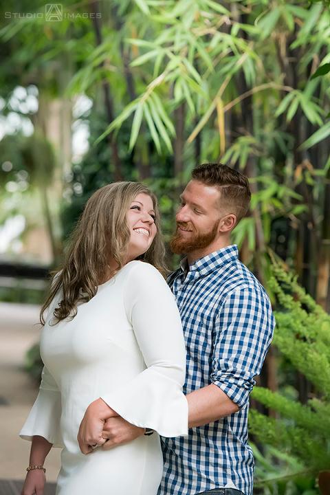 Longwood Gardens Engagement Photos | Philadelphia Wedding Photographer | Amber + Brandon