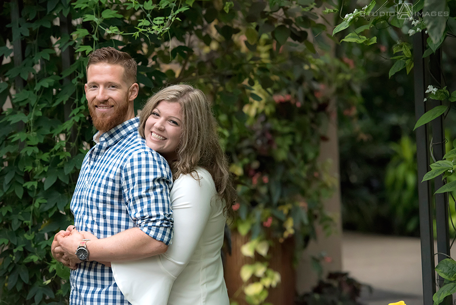 Longwood Gardens Engagement Photos | Philadelphia Wedding Photographer | Amber + Brandon