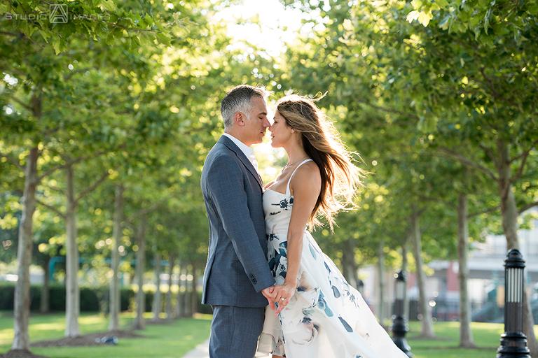 Hoboken Engagement Photos | Hoboken Wedding Photographer | Erica + Keith