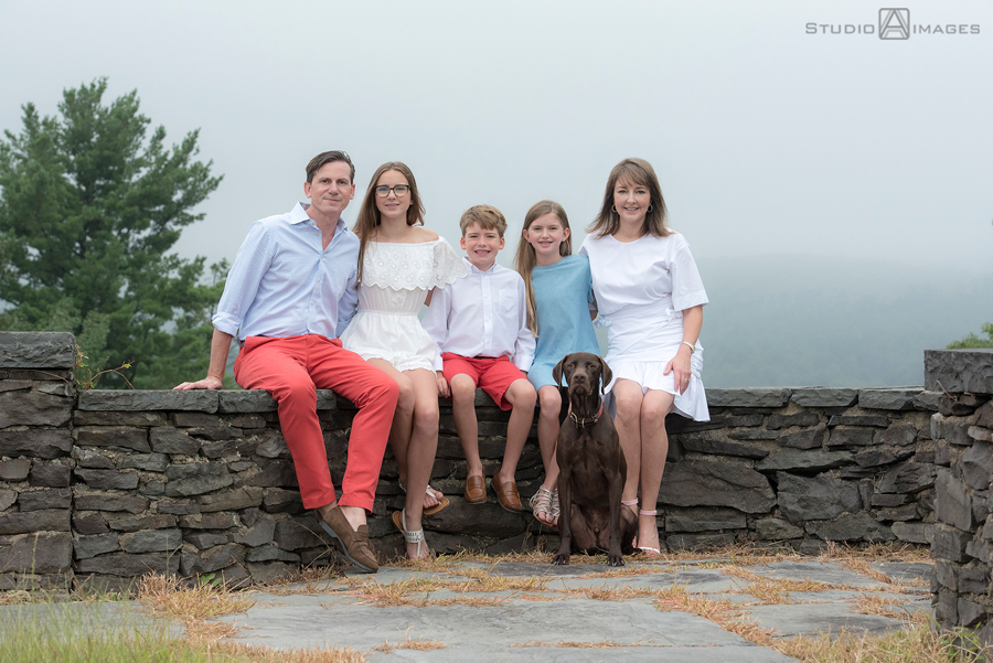 Buck Hill Falls Family Portrait Photography | Poconos Family Photographer | P Family