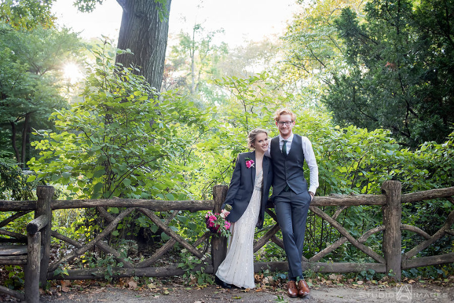 Central Park Wedding Photos | NYC Wedding Photographer | Grace + Michael