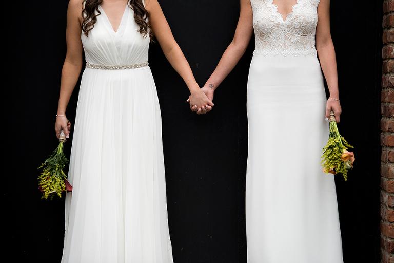 Kolo Klub wedding photos | Hoboken wedding photographer | LGBT friendly wedding photographer | lesbian wedding