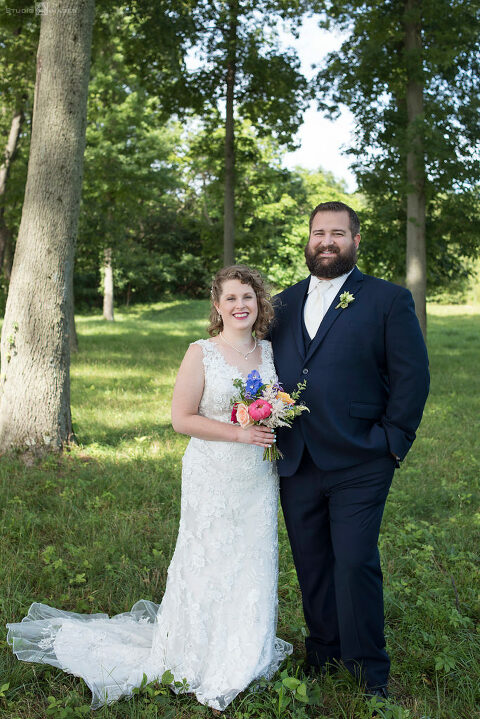 bride and groom on wedding day at Pen Ryn Estate Wedding Photos | Bucks County Wedding Photographer | Lily + Paul