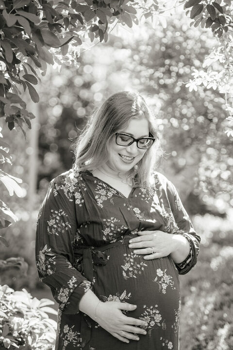 Expectant mother during Snug Harbor Maternity Session
